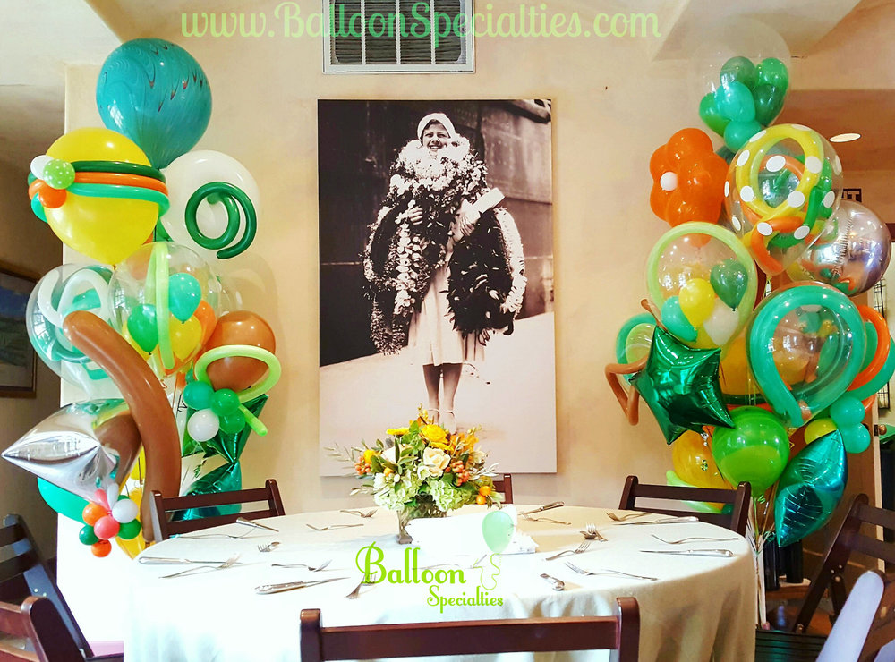 St Helena Balloon Delivery Bouquet Flora Springs Vinyards
