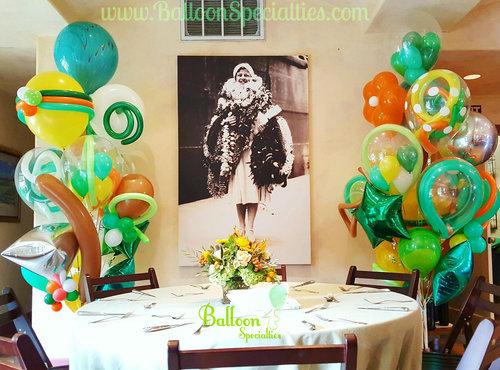 St Helena Zim Balloon Delivery Bouquet Vinyard Napa