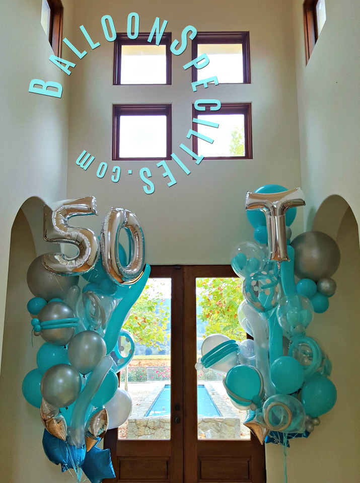 Specialty Balloon Bouquets in Tiffany Silver Calistoga CA Zim Balloon Specialties_1.jpg