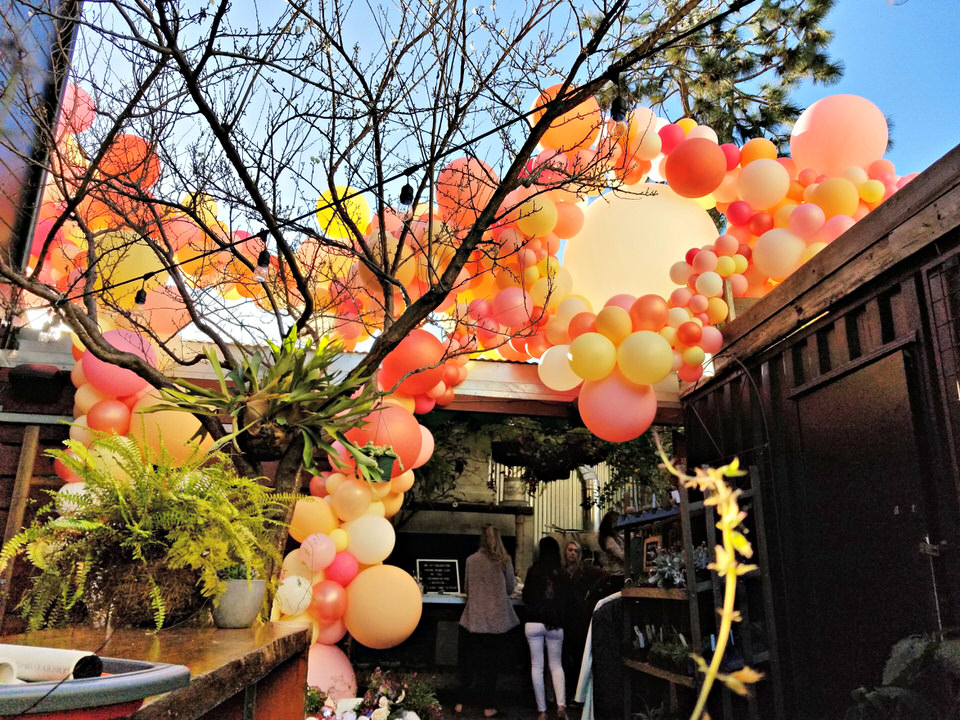 Take Time To Toast Balloon Installation - SF & North Bay Balloon Delivery - Balloon Specialties.jpg