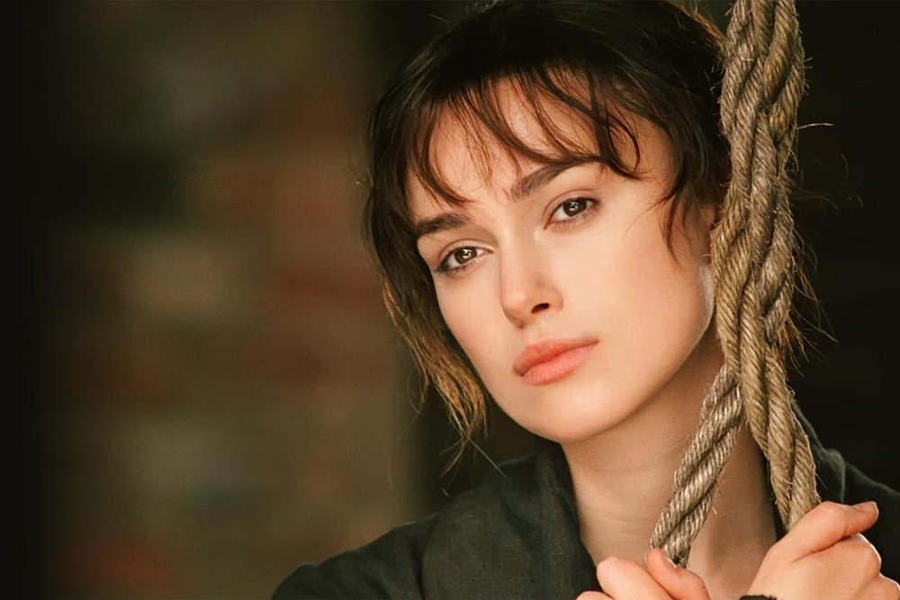 Keira Knightley in Pride & Prejudice (2005), Focus Features.
