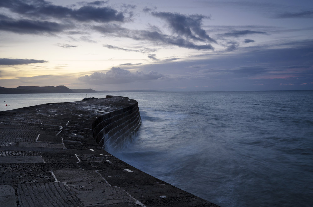 The Cobb, Lyme Regis.  Credit: Jane Odiwe