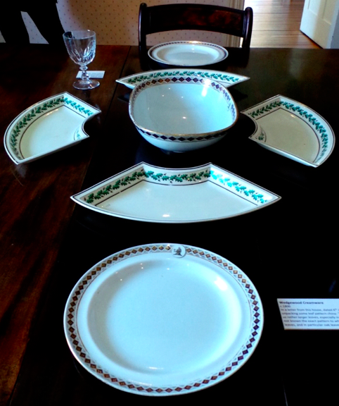 The Wedgwood dinner service