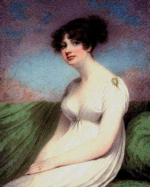 Mary Anne Clarke (née Thompson) by Adam Buck (1803)