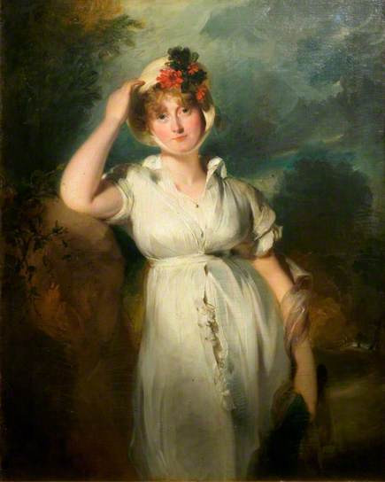Caroline of Brunswick, the unfortunate wife of the Prince Regent.  Licensed for reuse under Creative Commons.