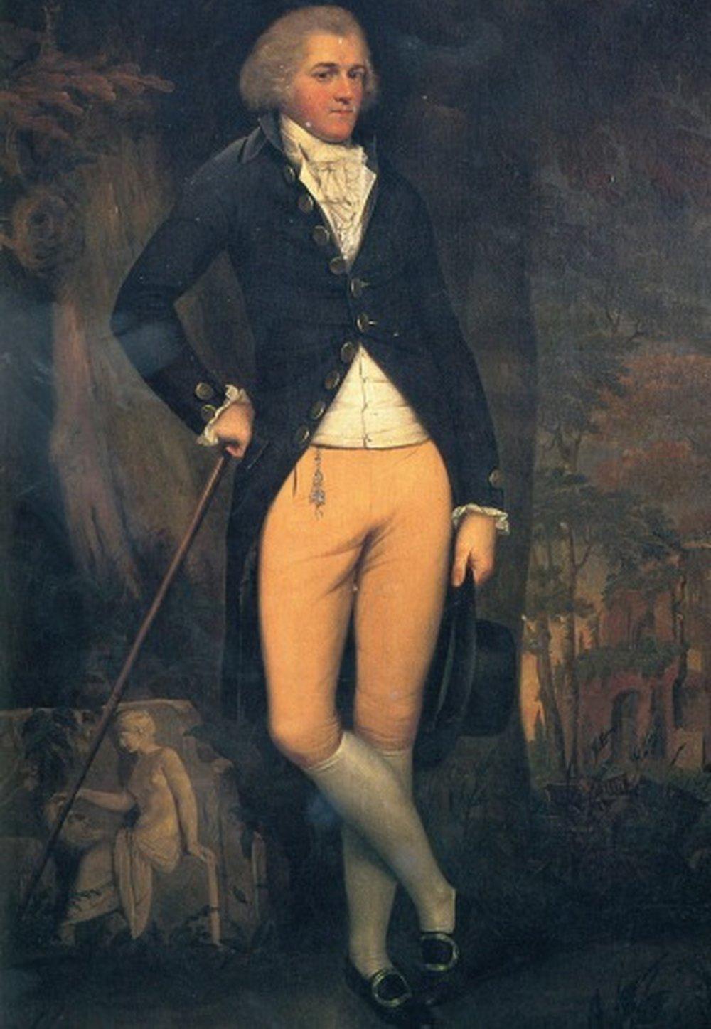 Edward Austen Knight.  Credit: Caroline Jane Knight.