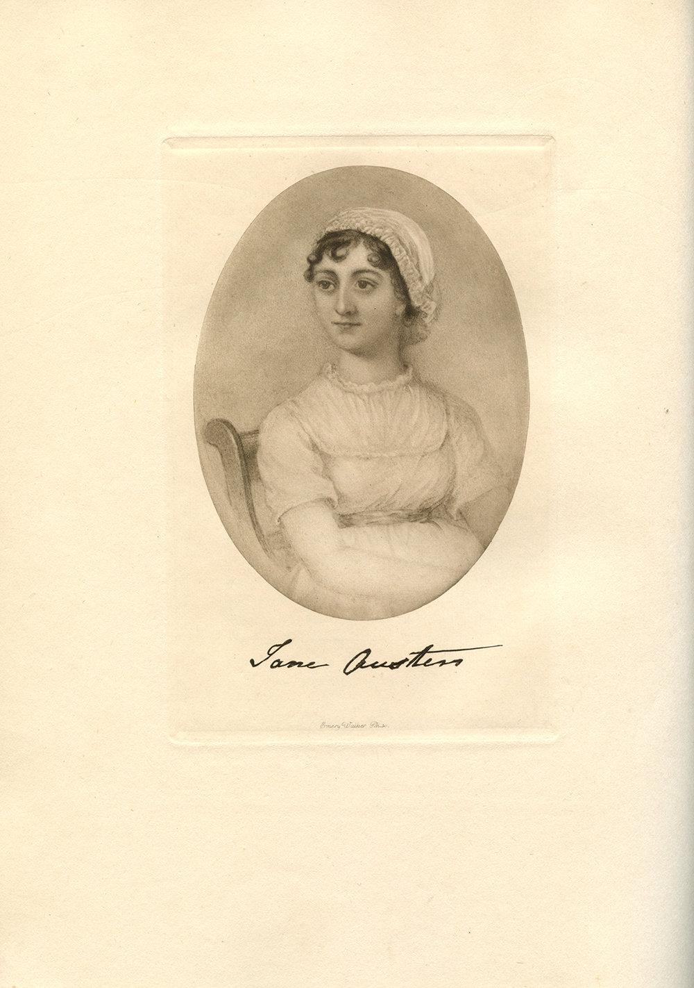 Jane Austen.  Credit: Caroline Jane Knight.