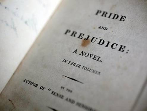Pride & Prejudice.  Credit: Caroline Jane Knight.