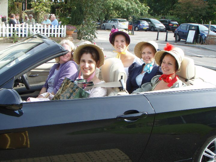 Janeites from the Netherlands in Chawton!  Credit: Odette Snel.