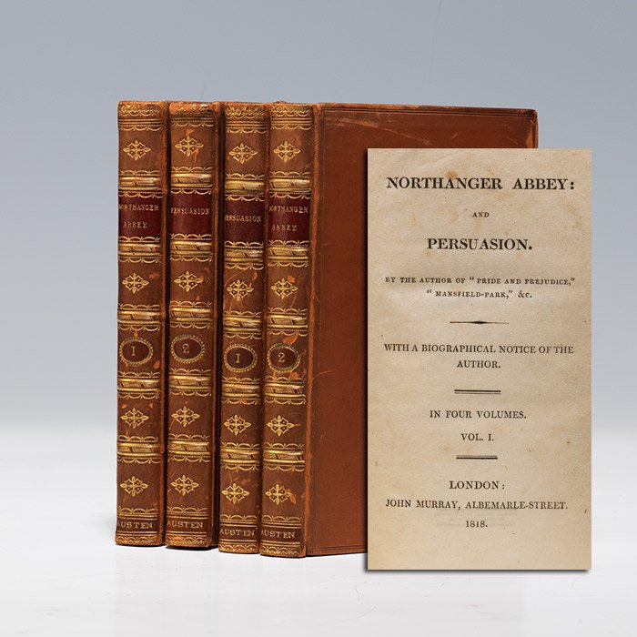 A first edition of  Persuasion .  Credit: Bauman Rare Books