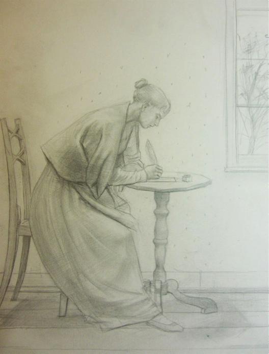 Sketch.  Credit: Robert Truscott