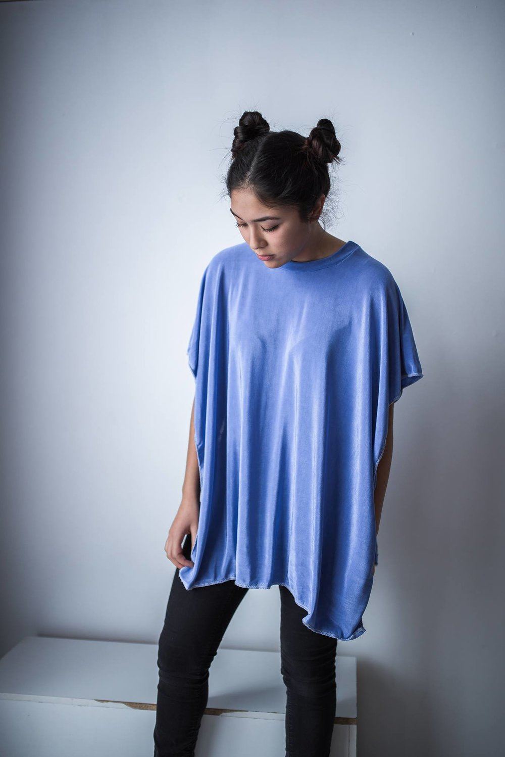 Poncho - the garment to wear when you can't decide if you want to wear a tank top or a t-shirt.