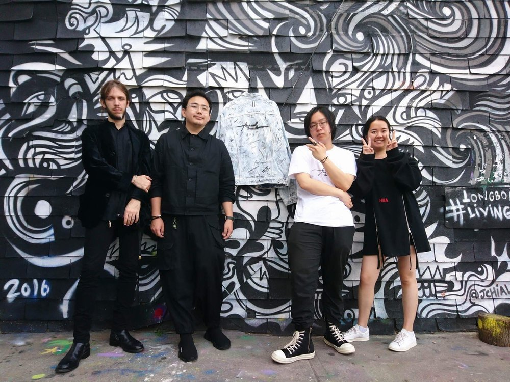The lovely people behind Archival Toronto. From left to right: Dominik, Carl, Jun, Gloria
