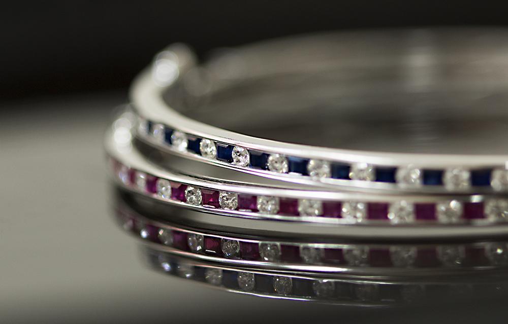 Channel set ruby diamond and saphire bracelet 2.jpg