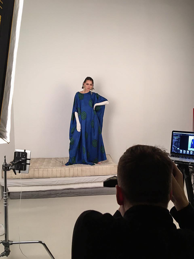 Afanasy caftan   looks properly regal here! Could it be worn by a modern day tsarina? Sure it could!