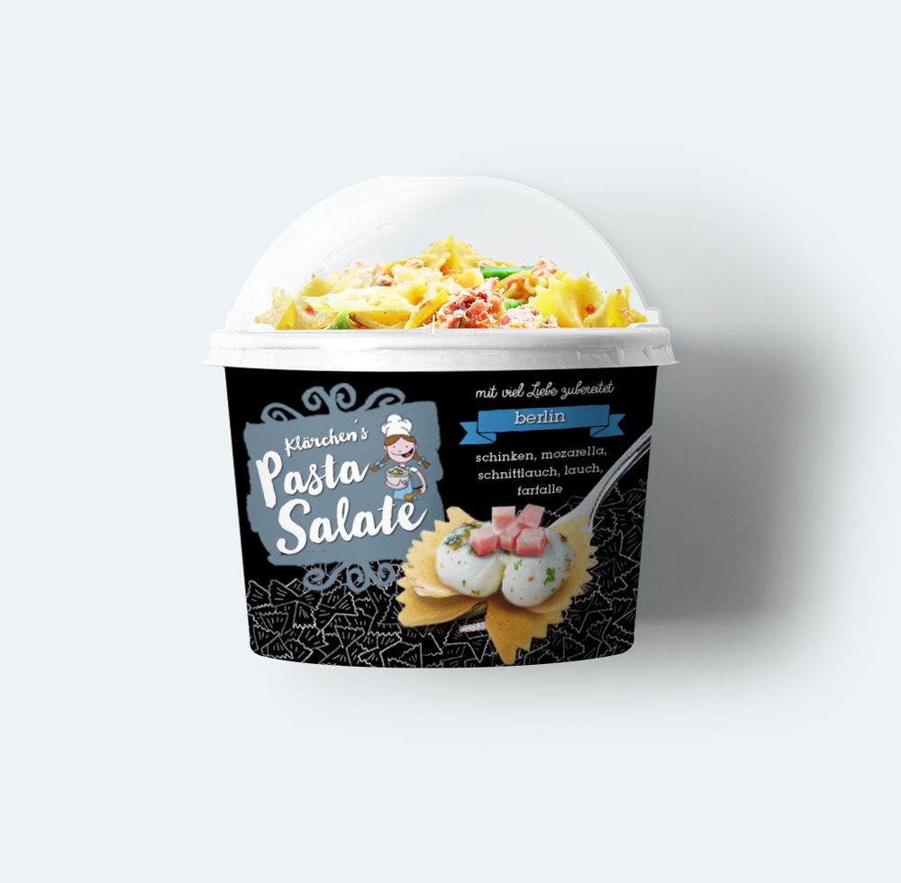 Pasta Salat Branding Packaging