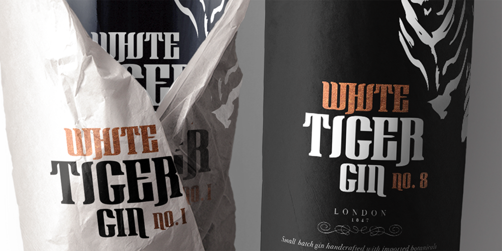 White Tiger Gin Nr. 1