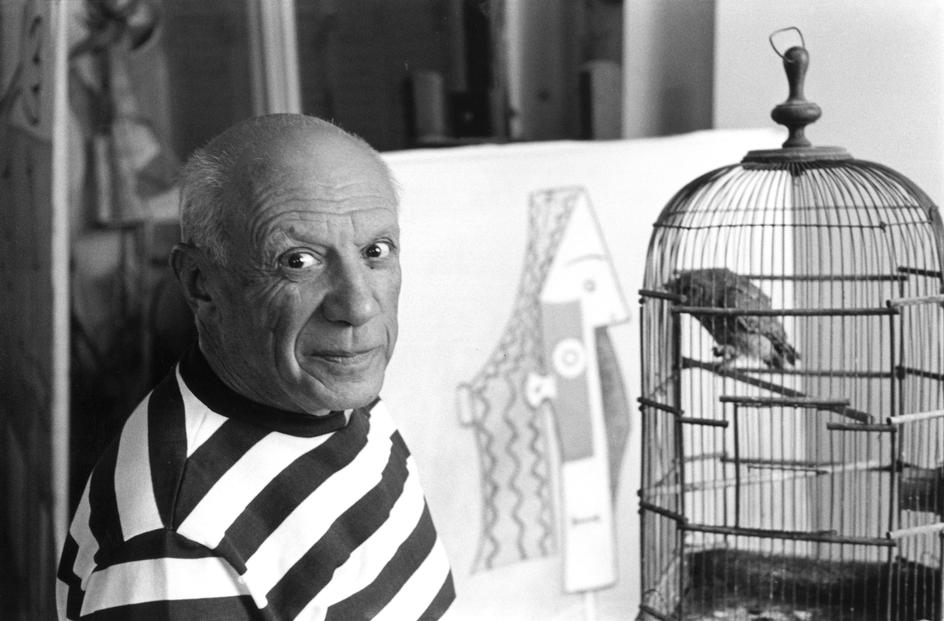 Pable Picasso by René Burri.