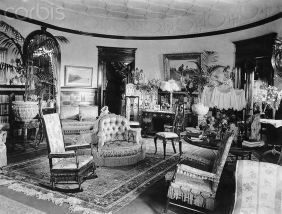 A room filled with all manner of sumptuous fabrics, knick-knacks, ceramics and accessories was a sign of wealth and opulence for the Victorians