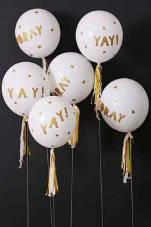 Add in some fun decorations...   Source: careergirldaily.com