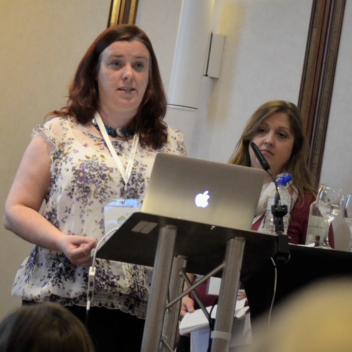 Louise Bell,  Research Manager (left), and  Ruth Fennelly , Clinical Trials Assistant (right)  Breakout session 14: Improving communication through EDGE from two perpectives: the force and the dark side     Watch video here