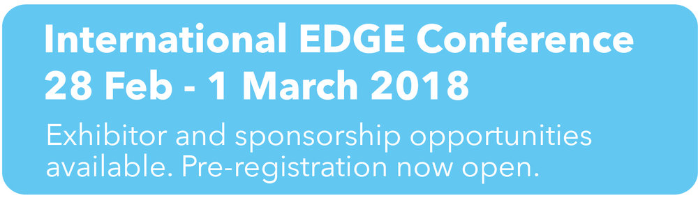 International EDGE conference 2018