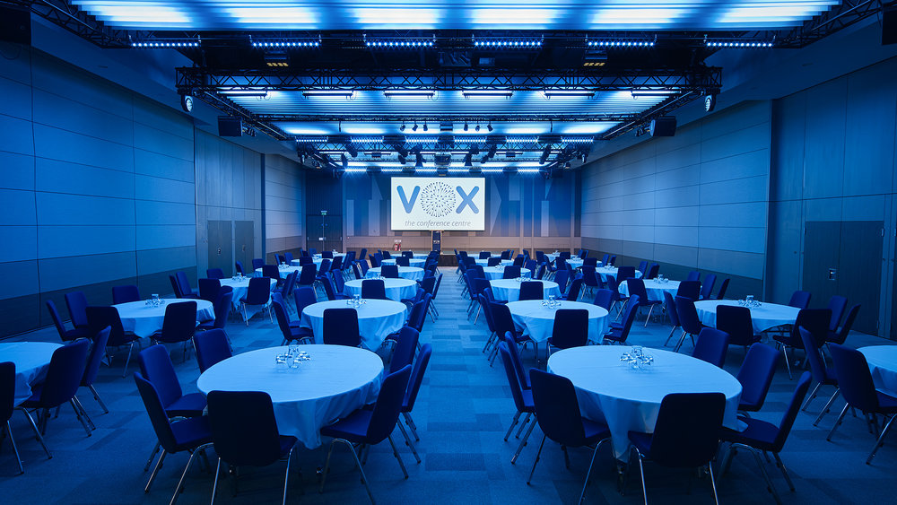 The VOX Conference Centre room