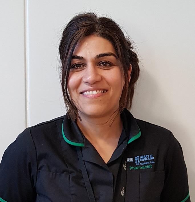 LUBNA KHAN - Principle Pharmacist R&D, Heart of England NHS Foundation Trust   Pharmacy meet & greet