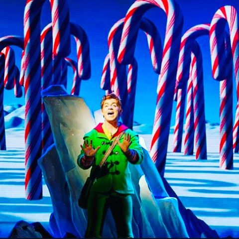 So happy to be able to say ... Buddy is back! This Christmas join us at @TRPlymouth and @The_Lowry @elfmusicaluk so excited to be back with my #Elf #family #goodtimes #sparklejollytwinklejingley#santa!!!!!!! #manchester #plymouth #theater #musicaltheatre