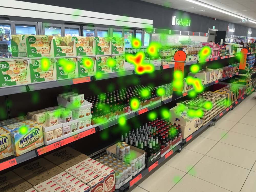 In-store eye tracking