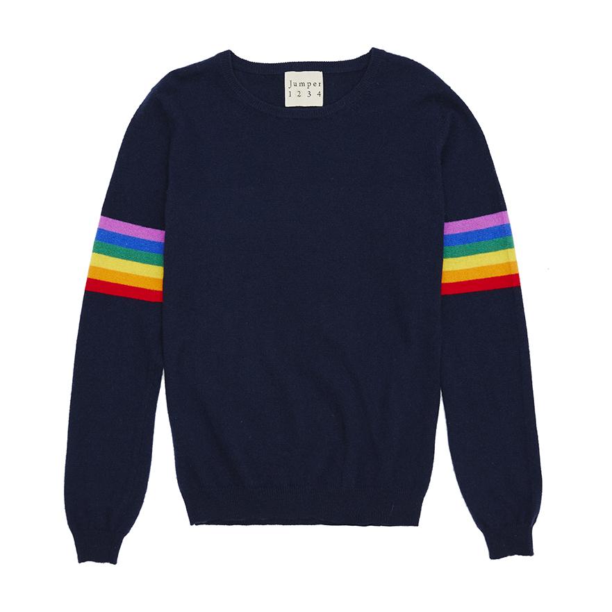 Rainbow Stripe Sleeve