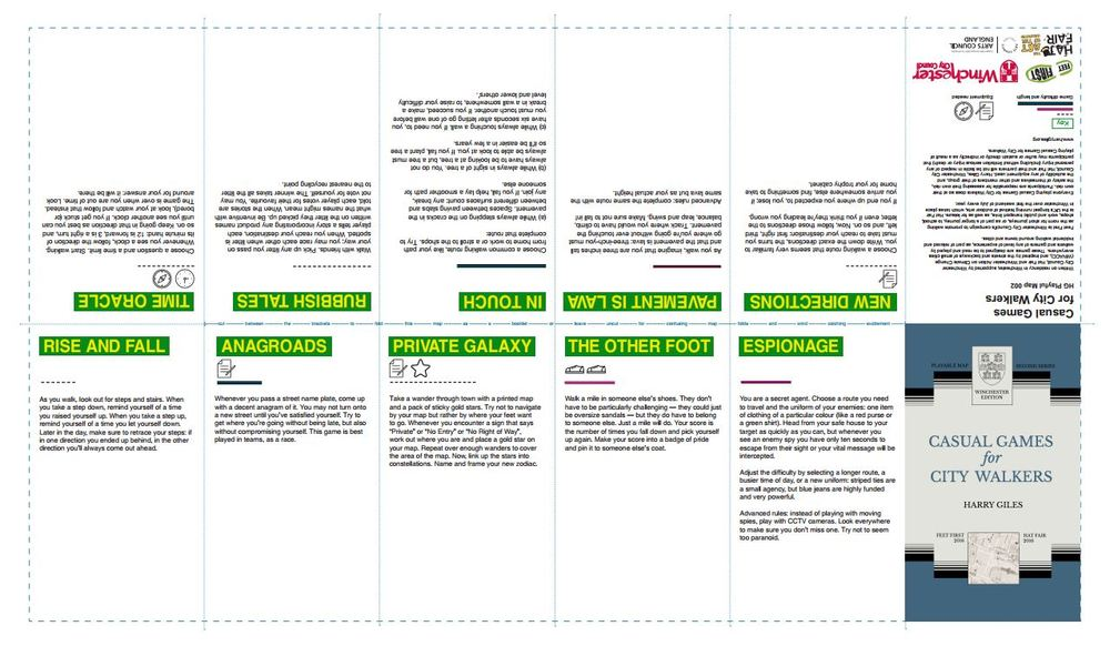 Download the print of Casual Games for City Walkers