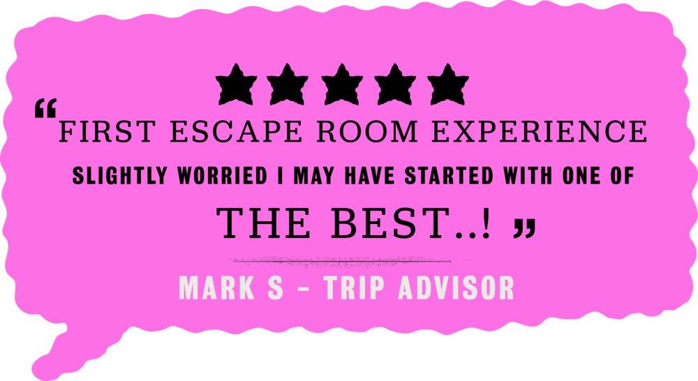 Trip Advisor, Team Games, Escape Rooms, London, Brighton, Handmade Mysteries