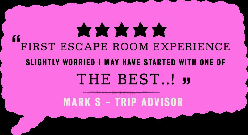 Trip Advisor, Team Games, Escape Rooms, London, Brighton, Handmade Mysteries