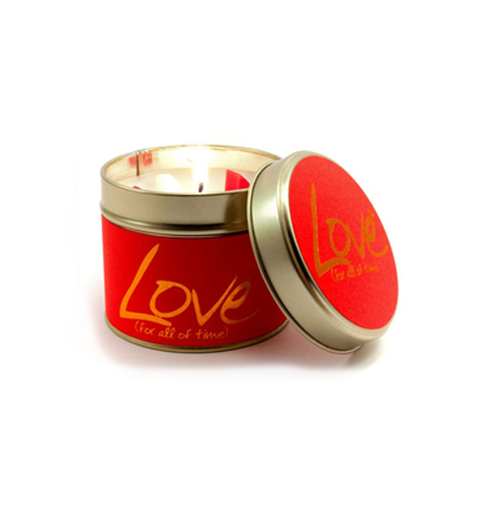 Lily-Flame Love Scented Tin
