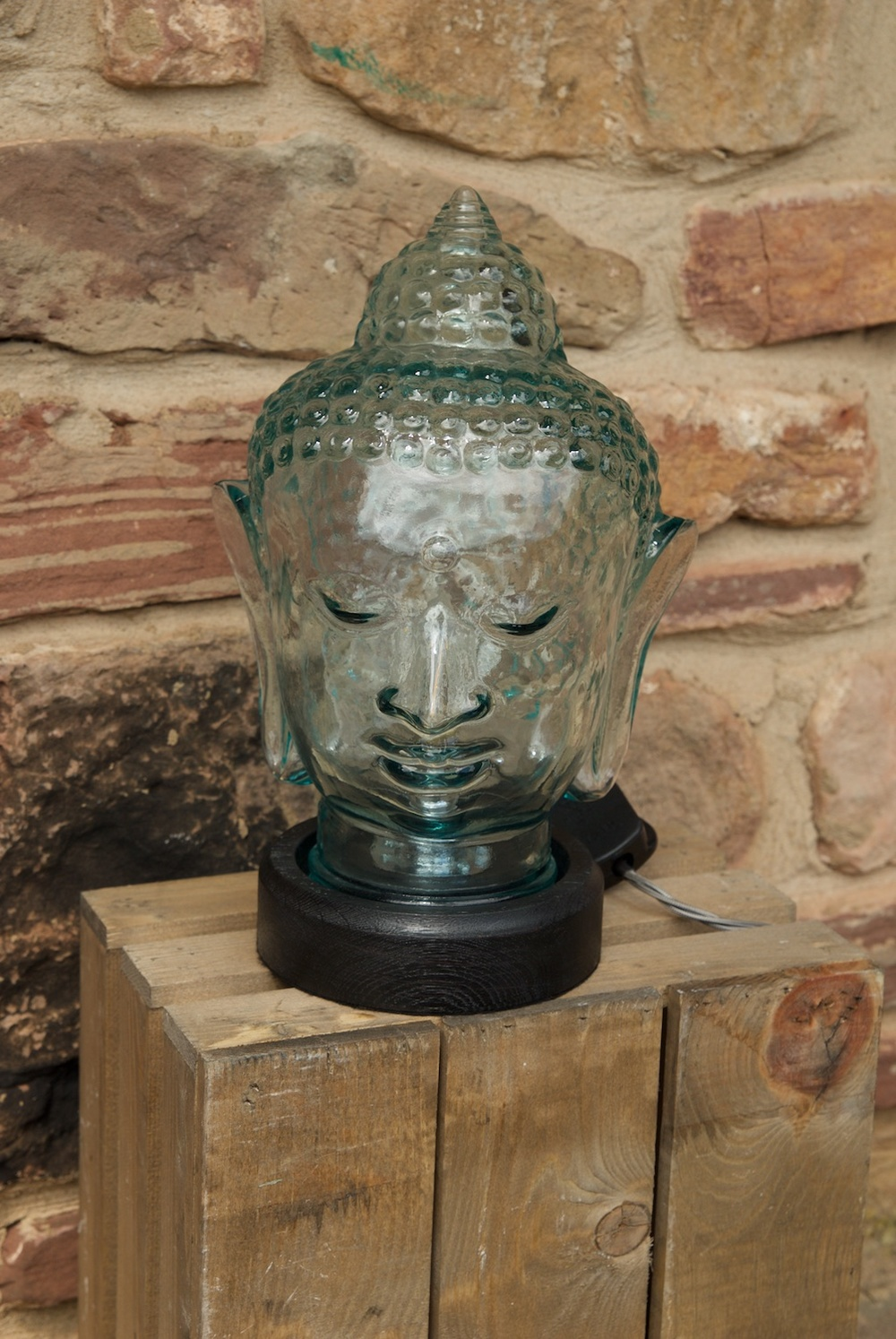 budda head led light