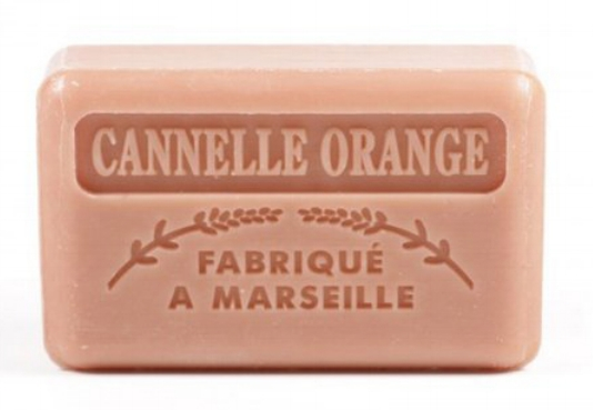 Orange and Cinnamon French Soap