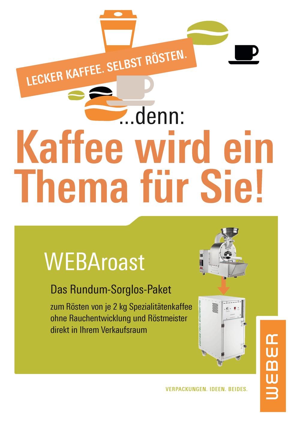 Vor Jahren angekündigt. Jetzt eingetreten. Cover: Ingo H. Klett für die © WEBER Packaging GmbH, 2012