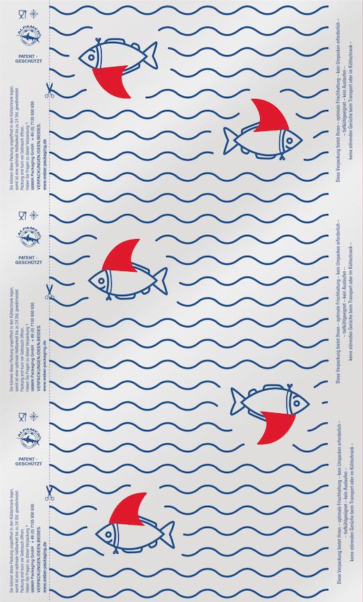 Halbstarker Hai (2 Farben)