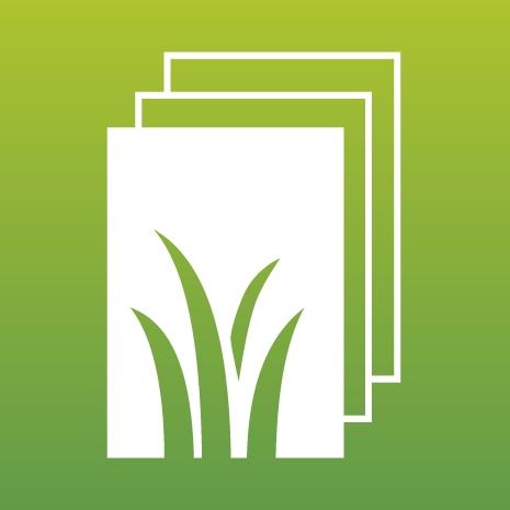 Graspapier. Ein Icon der © Creapaper GmbH