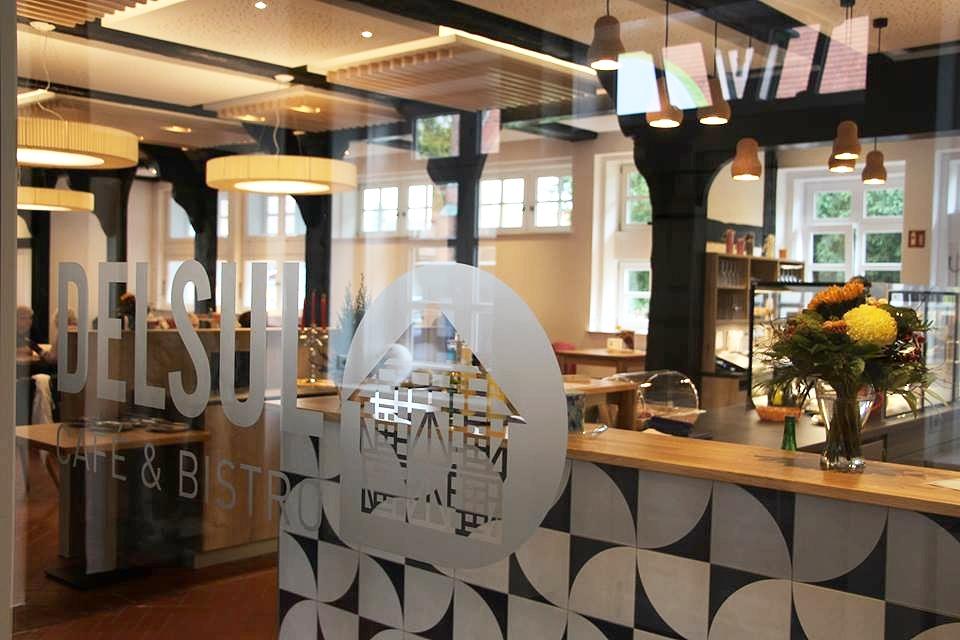Ein Café und Bistro der Delme-Werkstätten in Sulingen. Foto: © Delme-Werkstätten gGmbH, 2018