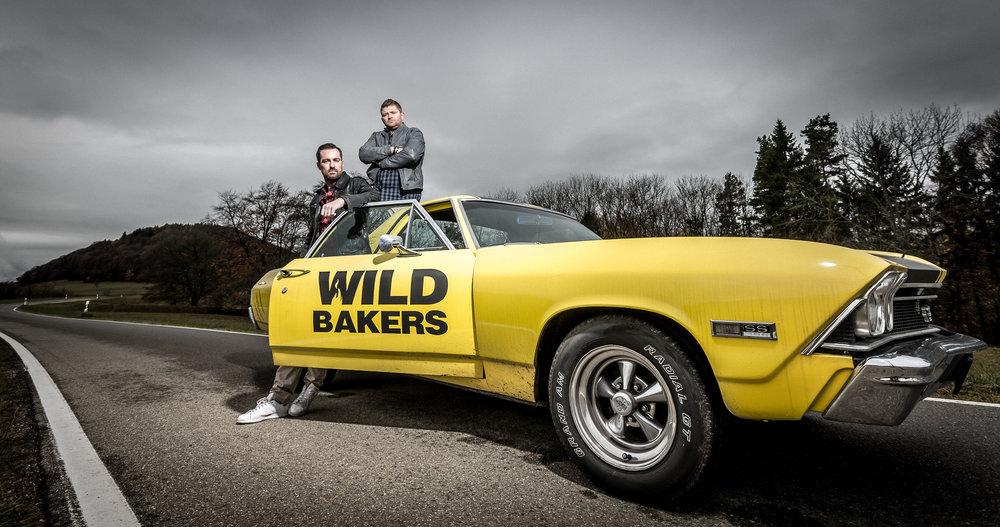 Jörg Schmid (links) und Johannes Hirth junior. Die  Wildbakers . Foto: © Daniel Schneider, 2018