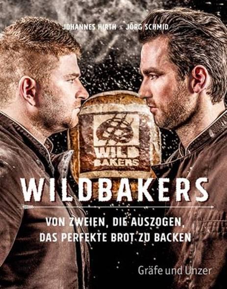 WILDBAKERS. Fachbuch.  Cover: © Gräfe und Unzer, 2018