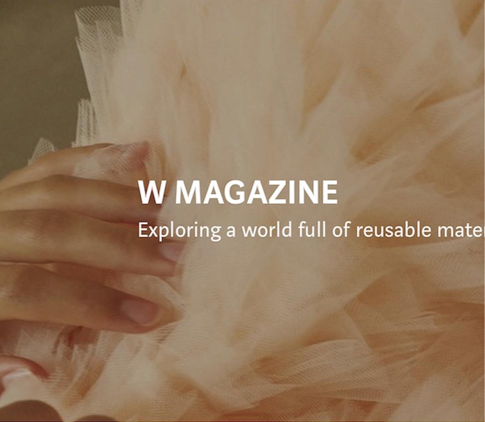 Ein Screenshot vom aktuellen Auftritt von WEBER auf  MEDIUM . Modefotografie:  Christina Kapl Photography  für die © WEBER Packaging GmbH, 2018