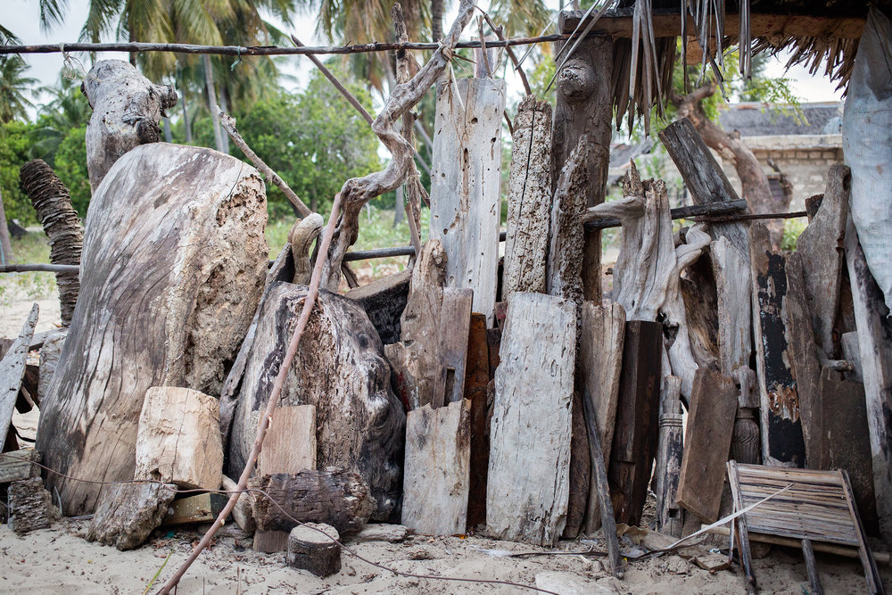 Isaiah driftwood