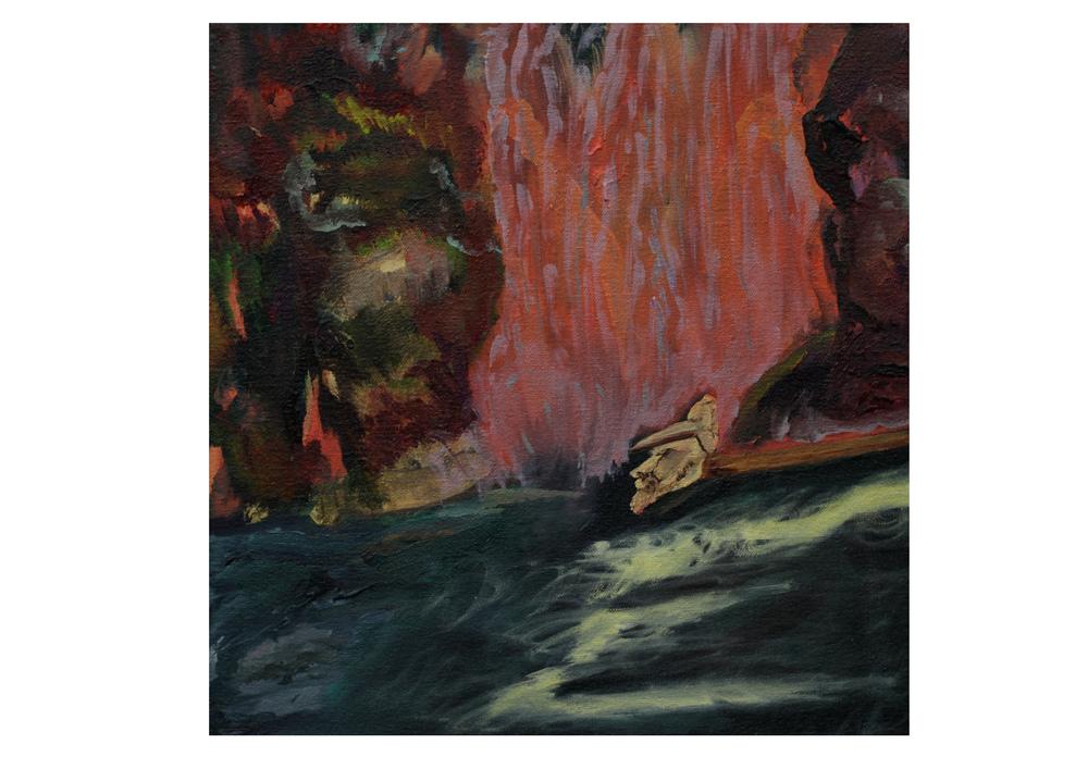 Inner Dell, 2014, oil on canvas, 30 x 30 cm