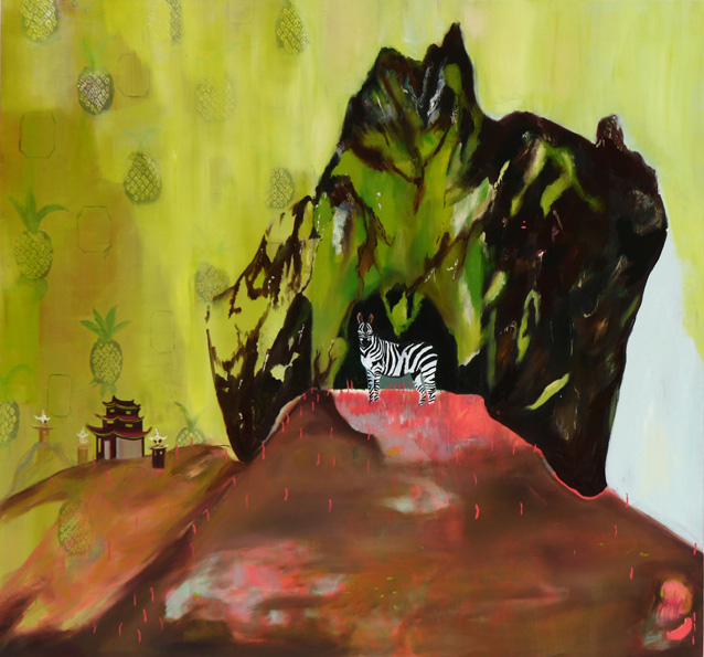 Mountain Zebra, 2013, oil on canvas