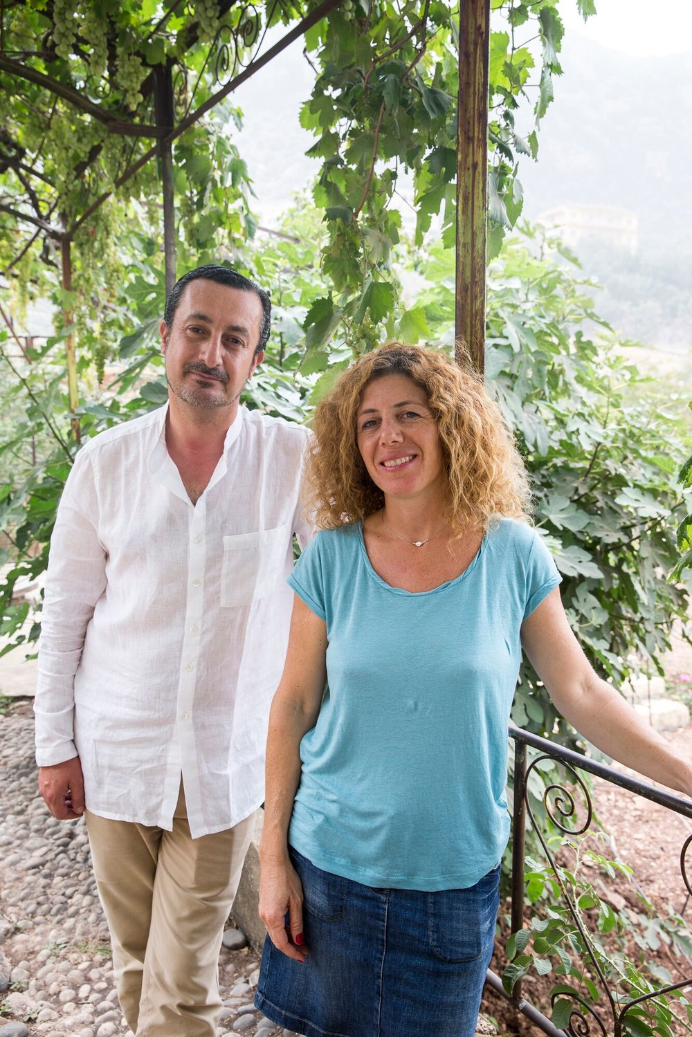 Kamal Mouzawak and Christine Codsi