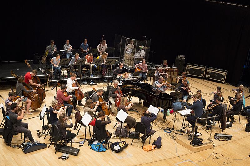 Asunder Rehearsals at Sage Gateshead