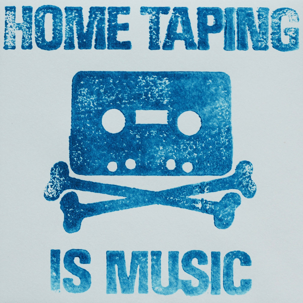 WR063 - Various Artists 'HOME TAPING IS MUSIC'